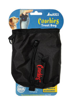 Picture of COACHIES DOG TREAT BAG BLACK