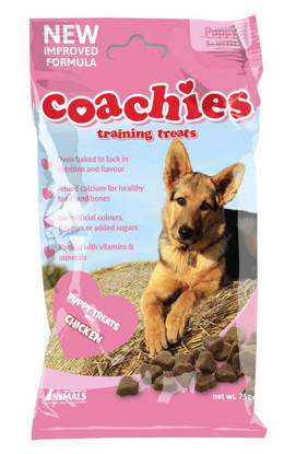 Picture of COACHIES PUPPY TRAIN TREAT CHK