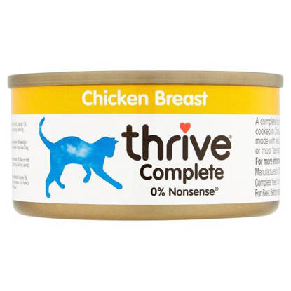 Picture of THRIVE CAT TIN CHICKEN 75G