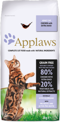 Picture of Applaws Adult Cat Chicken with extra Duck Dry - 2kg